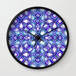 Shape of Diamond Blocks 2 Wall Clock