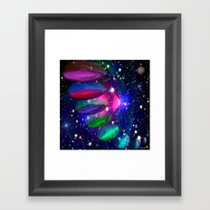 Intergalactic Invasion Framed Art Print