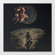 Farewell Mother Earth Canvas Print