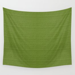Peridot Wood Grain Color Accent Wall Tapestry