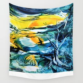WinterFullMoon Wall Tapestry
