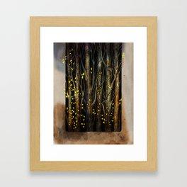 What's Hidden in the Trees I Framed Art Print