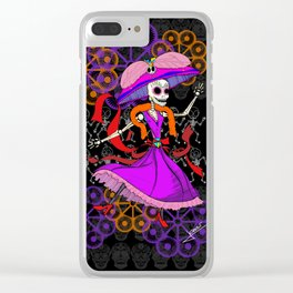 Frida Catrina Clear iPhone Case