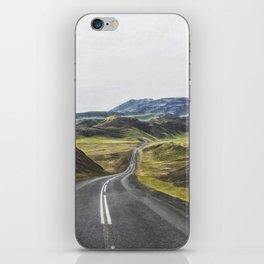Winding Road Iceland iPhone Skin