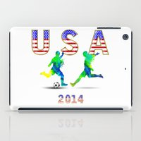usa iPad Cases featuring USA by Robin Curtiss