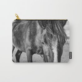 The black horse Carry-All Pouch