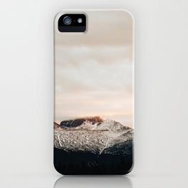 Sunset on Trail Ridge iPhone Case
