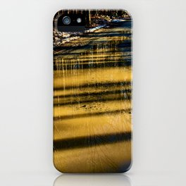 Reflections on a Logging Road iPhone Case