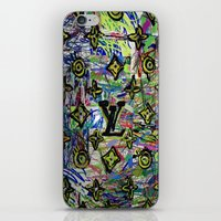 lv iPhone & iPod Skins featuring LV by JANUARY FROST