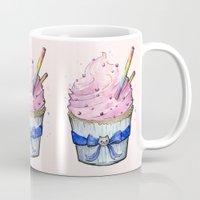 cupcake Mugs featuring Cupcake by Olechka