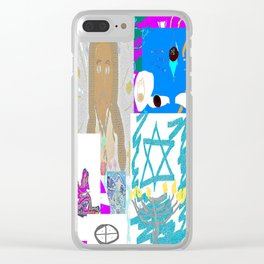 I AM Religion Clear iPhone Case