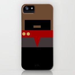 Captain Sisko - Minimalist Star Trek DS9 Deep Space Nine - Trektangle - Trektangles startrek iPhone Case