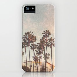Downtown Hollywod Texture iPhone Case