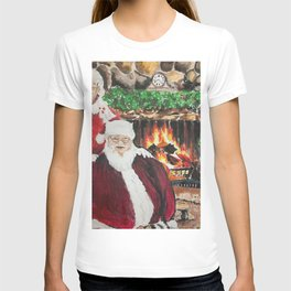 A Cozy Christmas Couple T-shirt