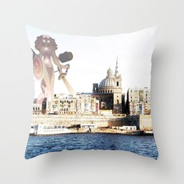 Spring Walks Throw Pillow