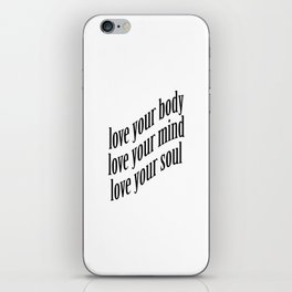Self-Love iPhone Skin