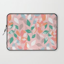 Pretty foliage brush paint design Laptop Sleeve