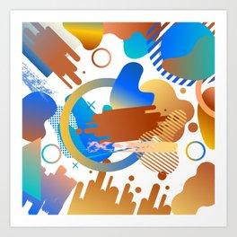 Vertex Art Print