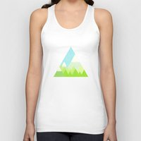the national Tank Tops featuring national park by emma method