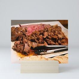 Delicious Delicious Lamb! Mini Art Print