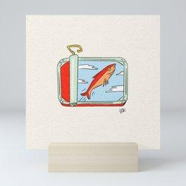 Tinned Fish Mini Art Print