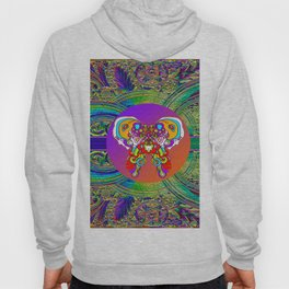 LOVE WITH A COSMIC BUTTERFLY Hoody
