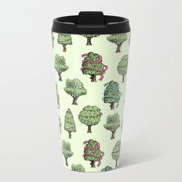 Decorated Trees Metal Travel Mug