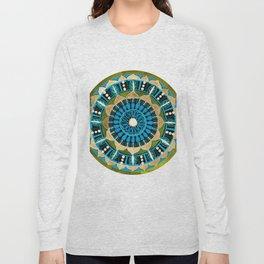 Sprouting Seeds Mandala Long Sleeve T-shirt