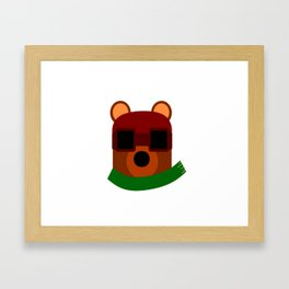 Speedy Cub Framed Art Print
