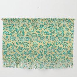Flora Pattern Twelve Wall Hanging