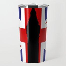 Union Flag Big Ben Travel Mug