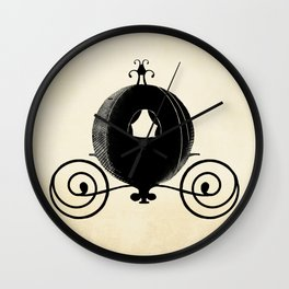Midnight Carriage Wall Clock