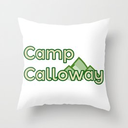 Camp Calloway Throw Pillow