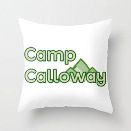Camp Calloway Throw Pillow