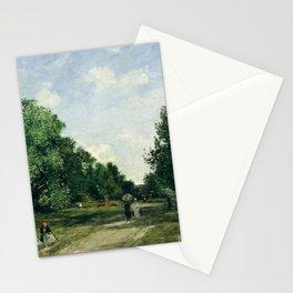 Eugène Boudin - Parc Cordier in Trouville Stationery Cards