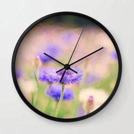 Nostalgic cornflower Wall Clock