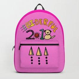 2018 Wang-derful Dog Doodles Backpack