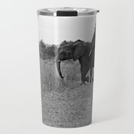 African Elephants on a Journey Travel Mug