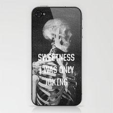 Sweetness iPhone & iPod Skin