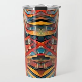 Ceremonial Dance Mask Travel Mug