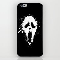 scream iPhone & iPod Skins featuring Scream by DanielBergerDesign