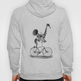 Phil loved cycling the city streets listening to his music Hoody