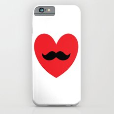 Mustache heart Slim Case iPhone 6s