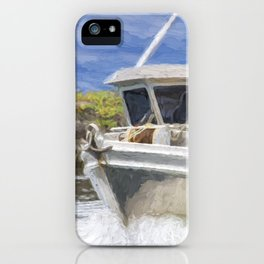 Fisherman's Prayer - West Coast Art iPhone Case