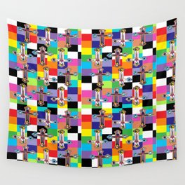 Jesus is The New Pattern 2 Wall Tapestry