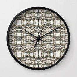 Sculpted Pattern Frieze Wall Clock