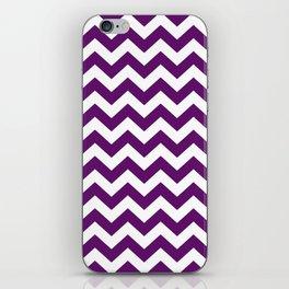 African Violet Safari Chevron iPhone Skin