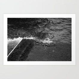 water and me 2 Art Print