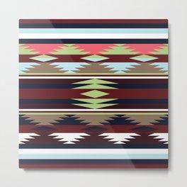 American Native Pattern No. 20 Metal Print