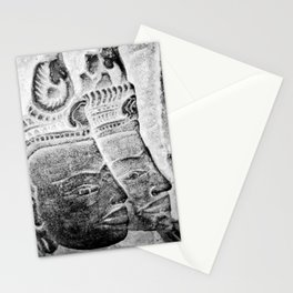 Faces II Stationery Cards